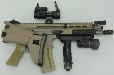 FN SCAR-L CQC (Close Quarters Combat) приклад сложен