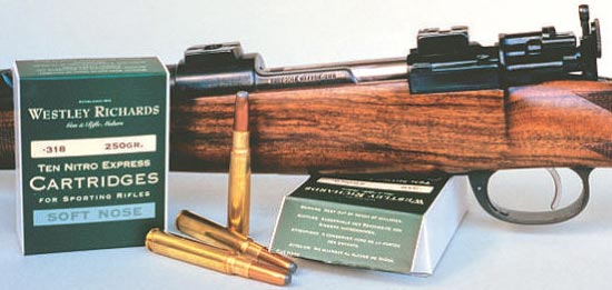 .318 Westley Richards Nitro Express
