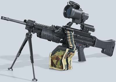 Heckler-Koch HK MG4 MG43 Machine Gun